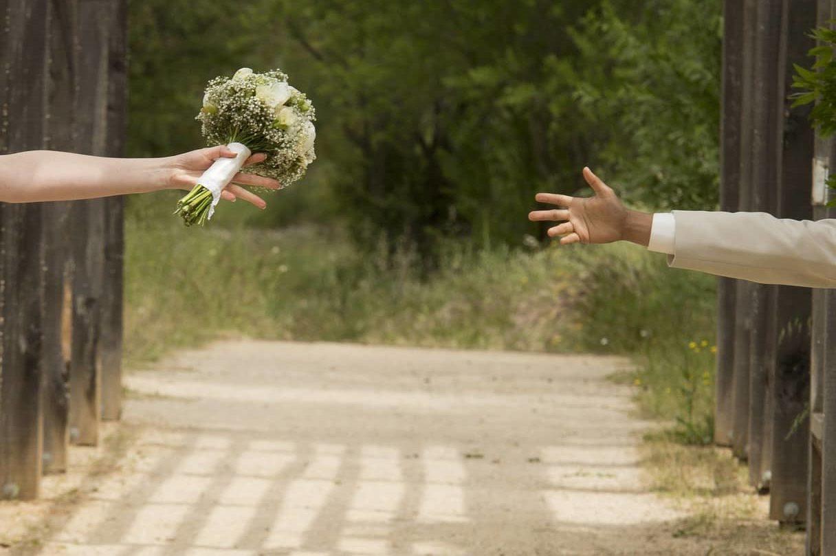 mais mariés : photo originale